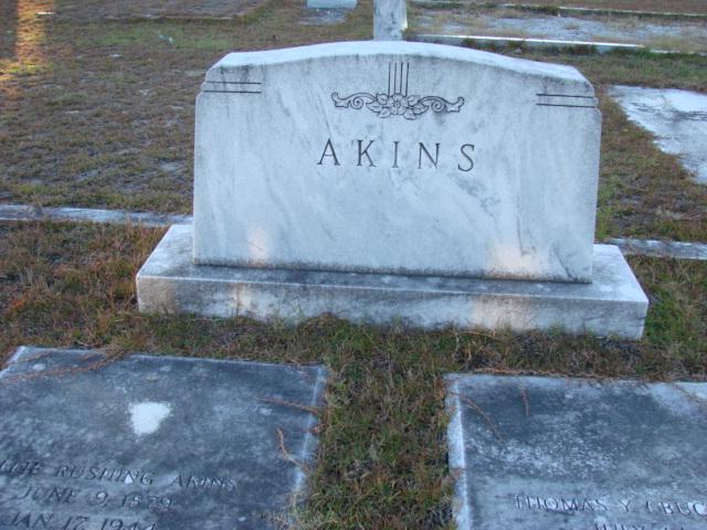 Lillian Lillie <i>Rushing</i> Akins