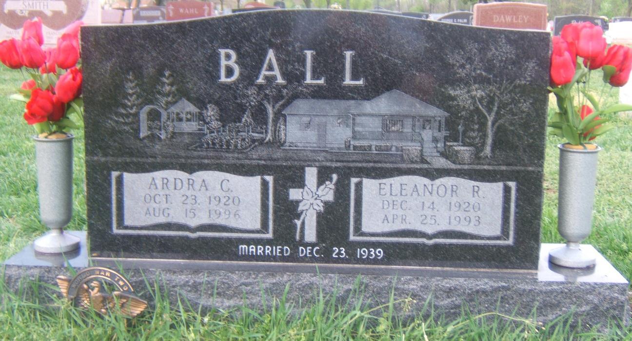 Eleanor R <i>Bentrim</i> Ball