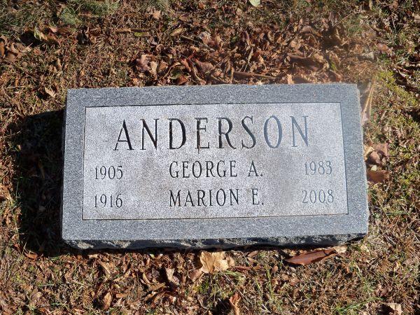 Marion E Anderson