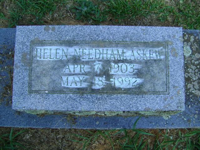 Helen <i>Needham</i> Askew