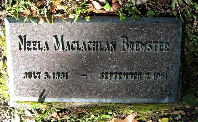 Neela Mae <i>MacLachlan</i> Brewster