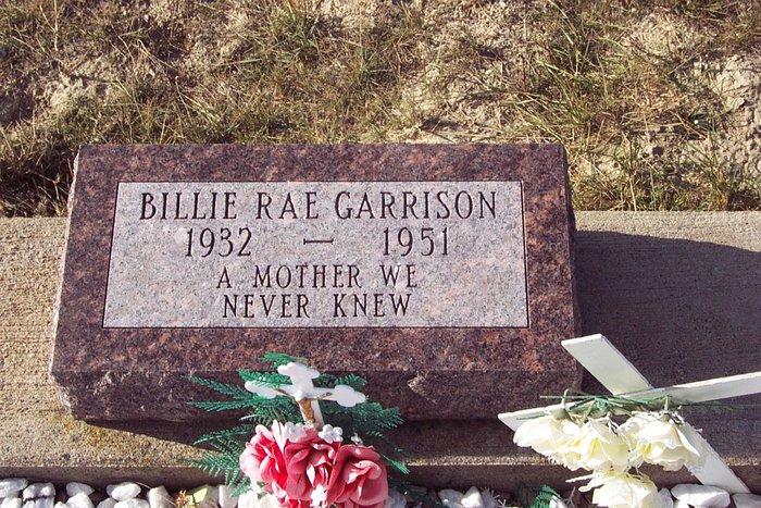 Billie Rae Garrison