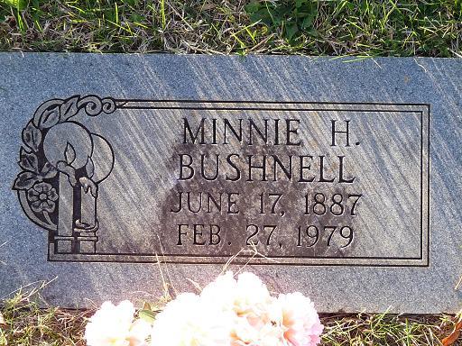 Minnie <i>Hartshorne</i> Bushnell