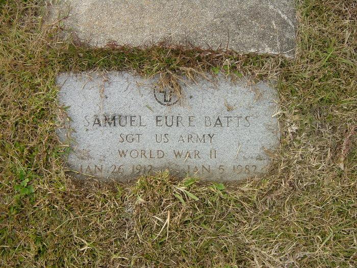 Sgt Samuel Eure Batts