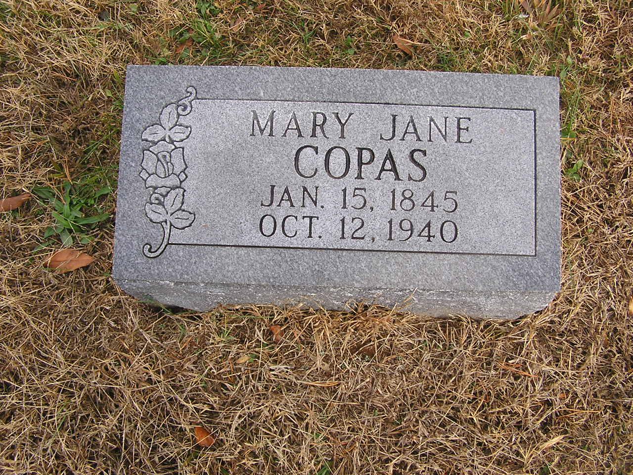 Mary Jane <i>Copass</i> Copas