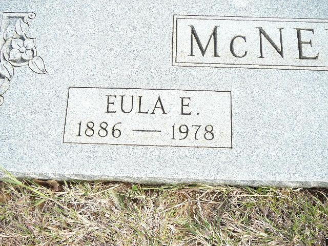 Eula Elmeda <i>Moore</i> McNeill