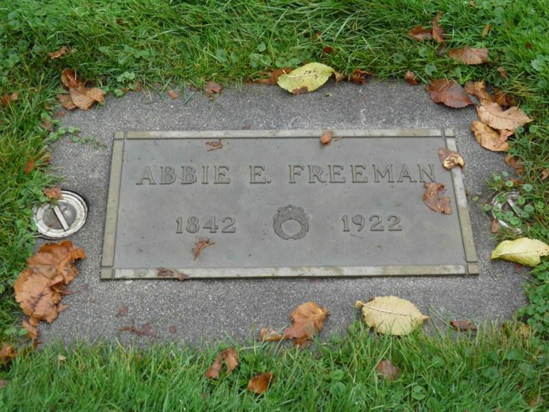 Abbie E <i>Marden</i> Freeman