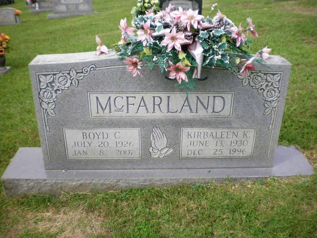 Kirbaleen K McFarland