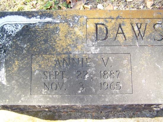 Annie V Dawson