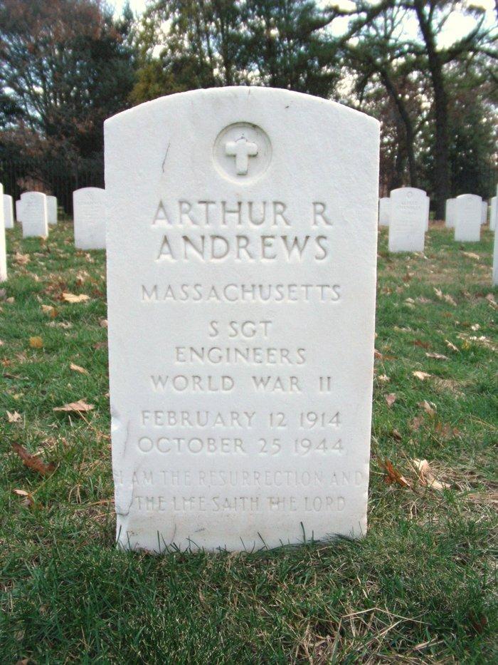 SSGT Arthur R Andrews
