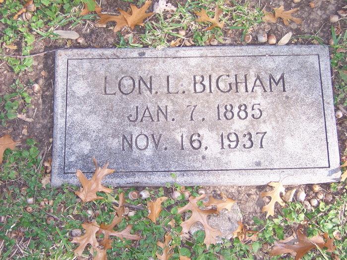 Lon Leander Bigham