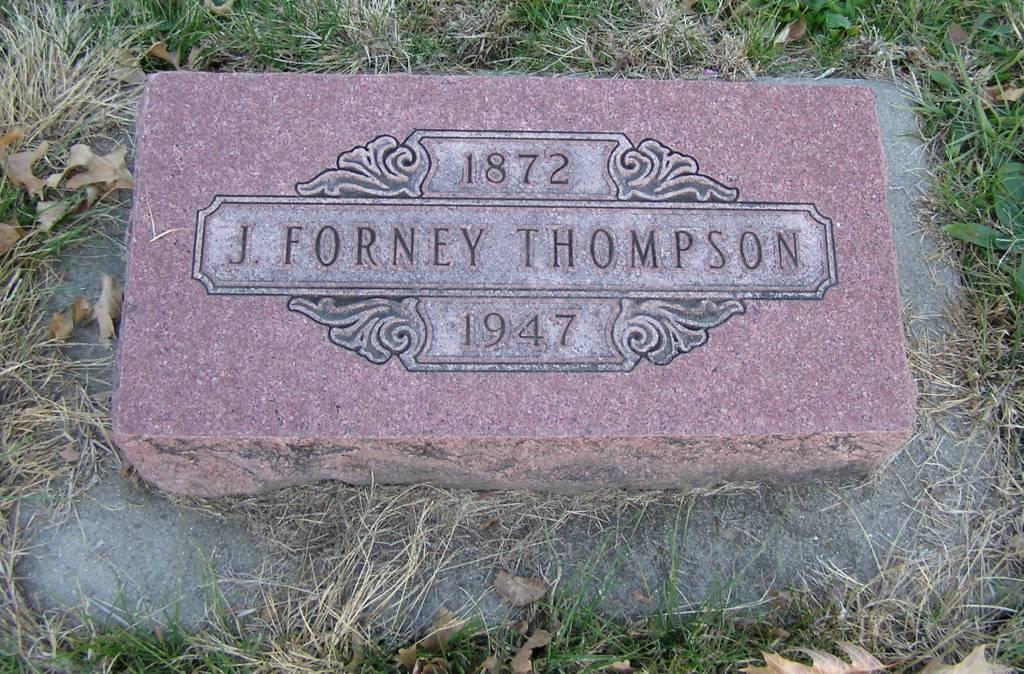 Joseph Forney Thompson