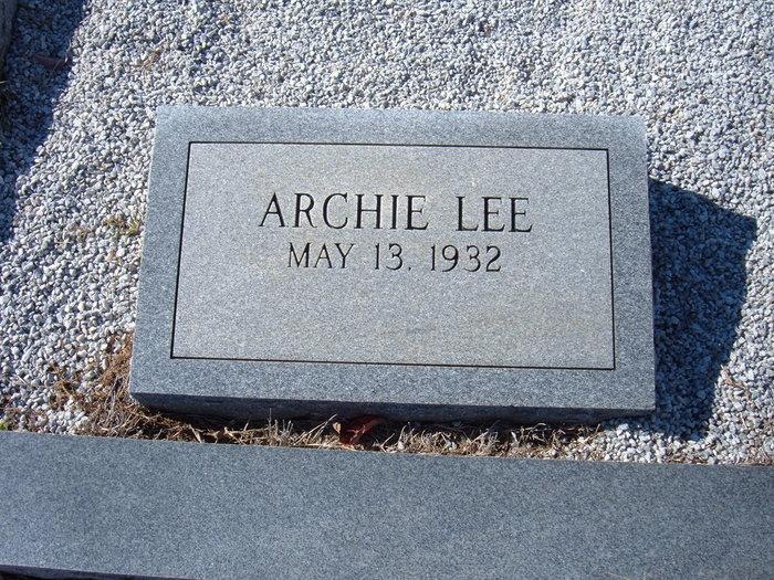 Archie Lee Doc Cofer