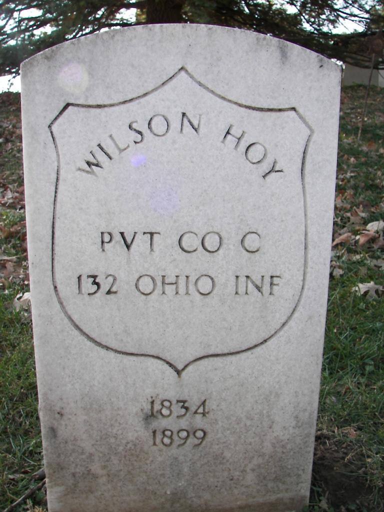 Pvt Wilson Hoy