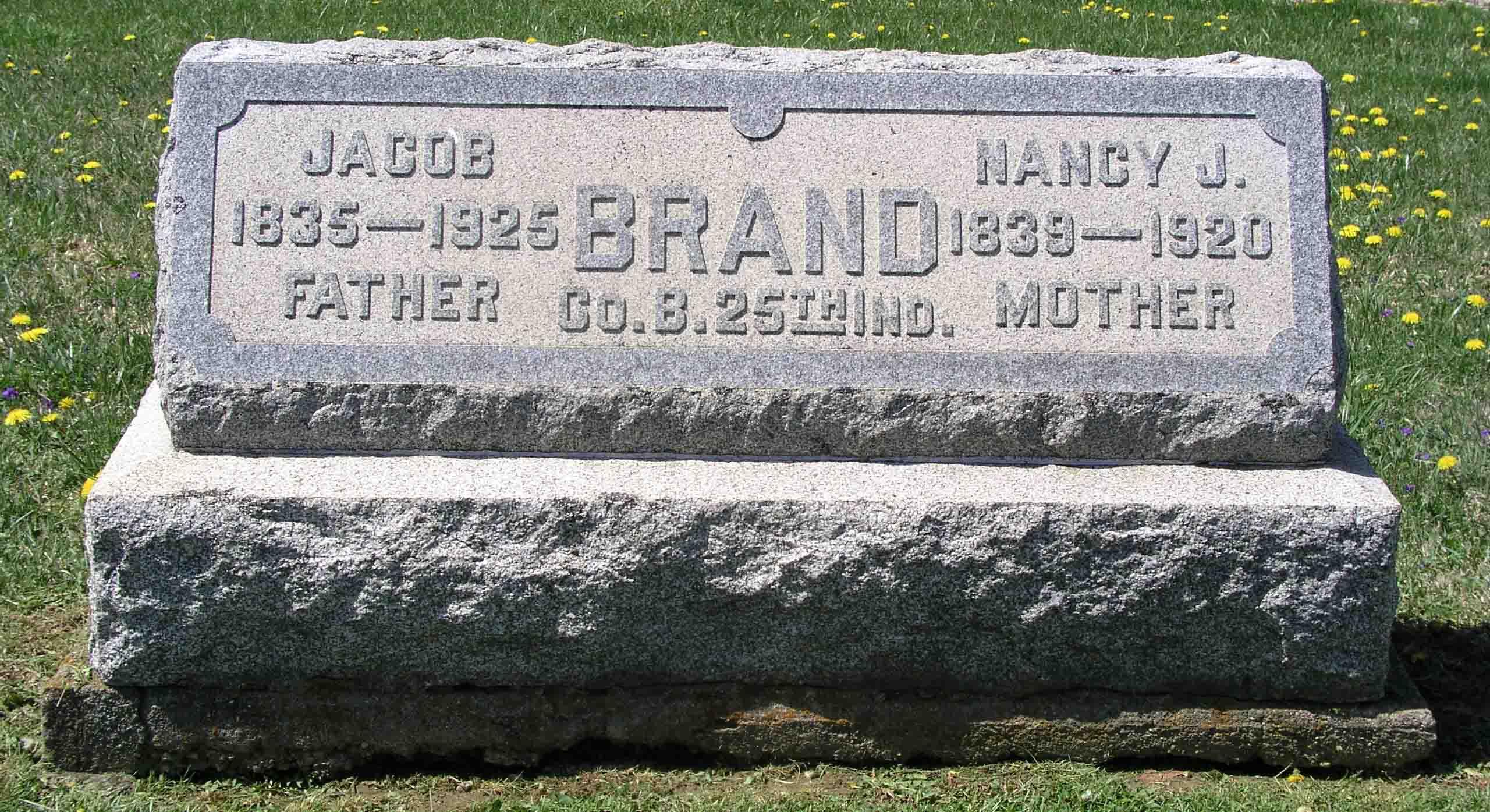 Nancy Jane <i>Walker</i> Brand