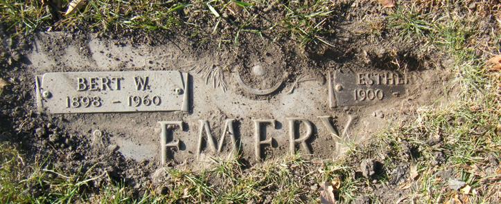 Bert W Emery