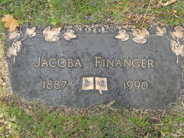 Jacoba <i>Olson</i> Finanger