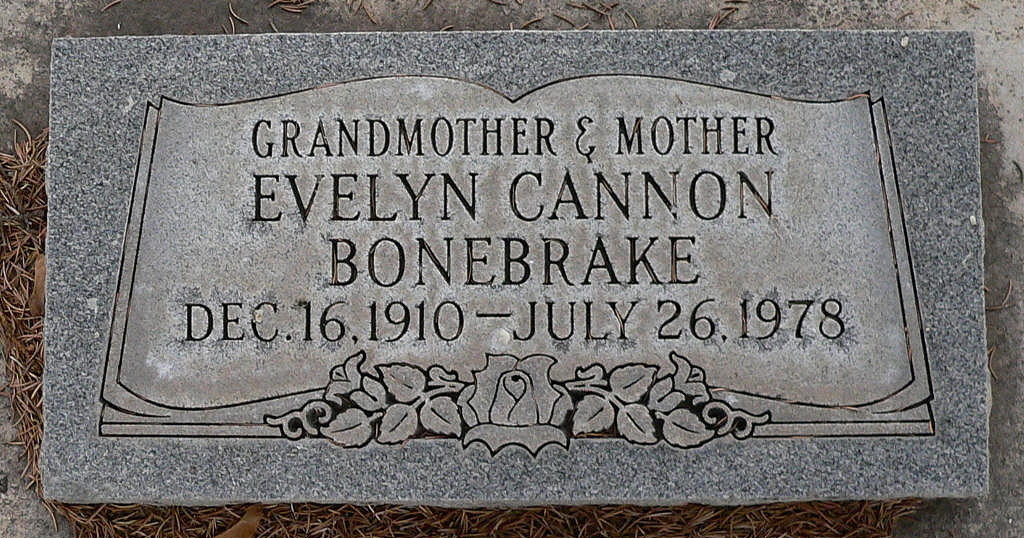 Evelyn <i>Cannon</i> Bonebrake