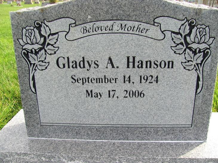 Gladys A. <i>Tygart</i> Hanson