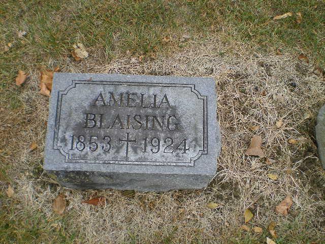 Amelia <i>Frossard</i> Blaising