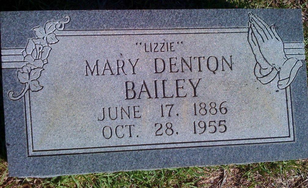 Mary Elizabeth <i>Denton</i> Bailey
