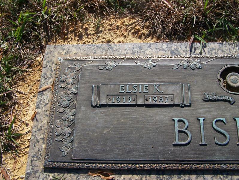 Elsie <i>Kissiah</i> Bishop