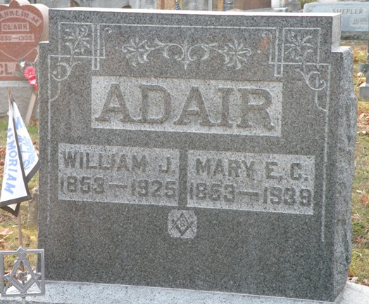 Mary Elizabeth <i>Clark</i> Adair