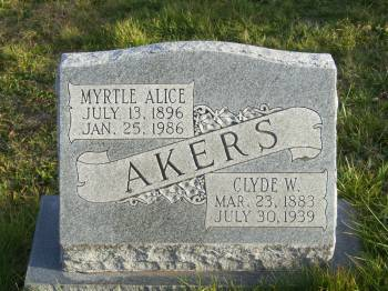 Clyde Walter Akers
