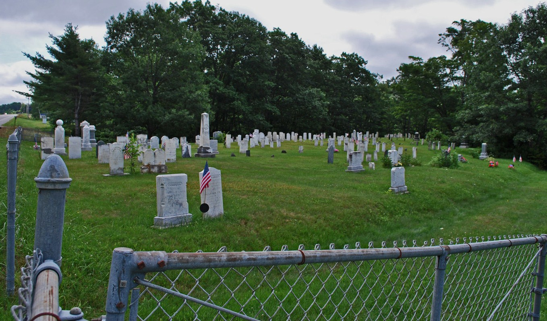 Greeley Corner Cemetery Old