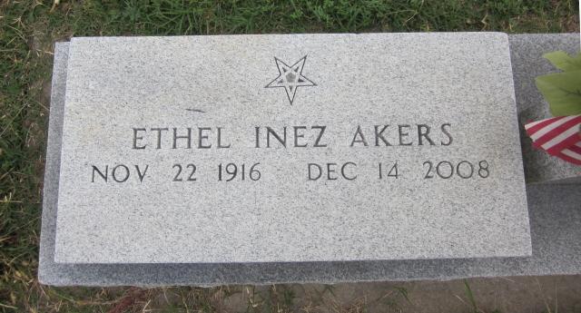 Ethel Inez <i>Maddox</i> Akers