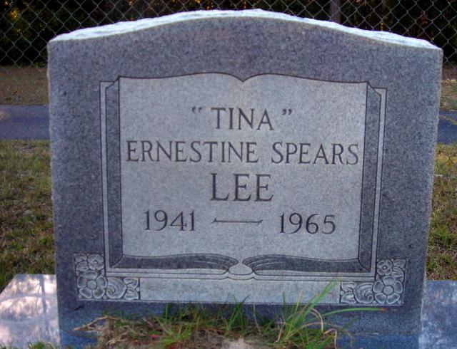Ernestine Spears Tina Lee