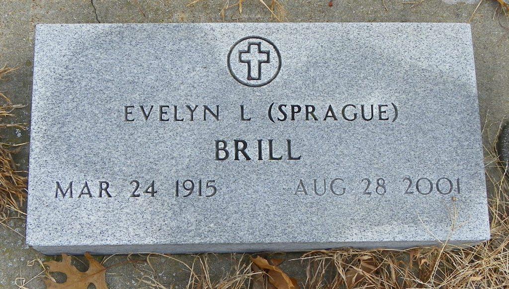 Evelyn Laura <i>Scott</i> Brill