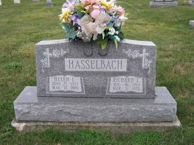 Helen L <i>Babione</i> Hasselbach