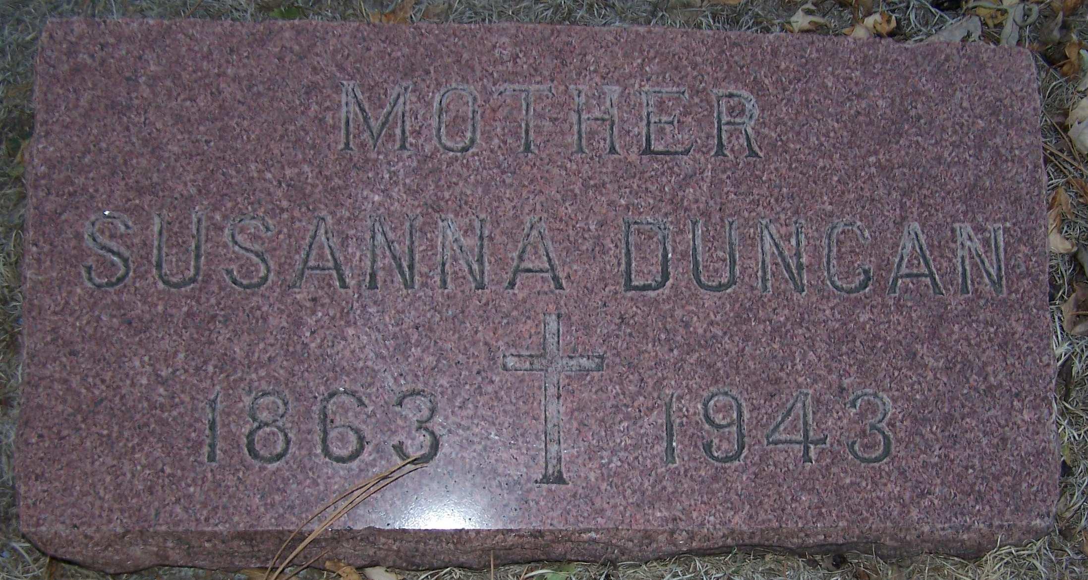 Susanna <i>Dougherty</i> Duncan