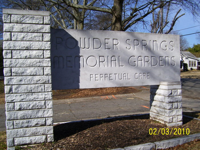 Powder Springs Memorial Gardens