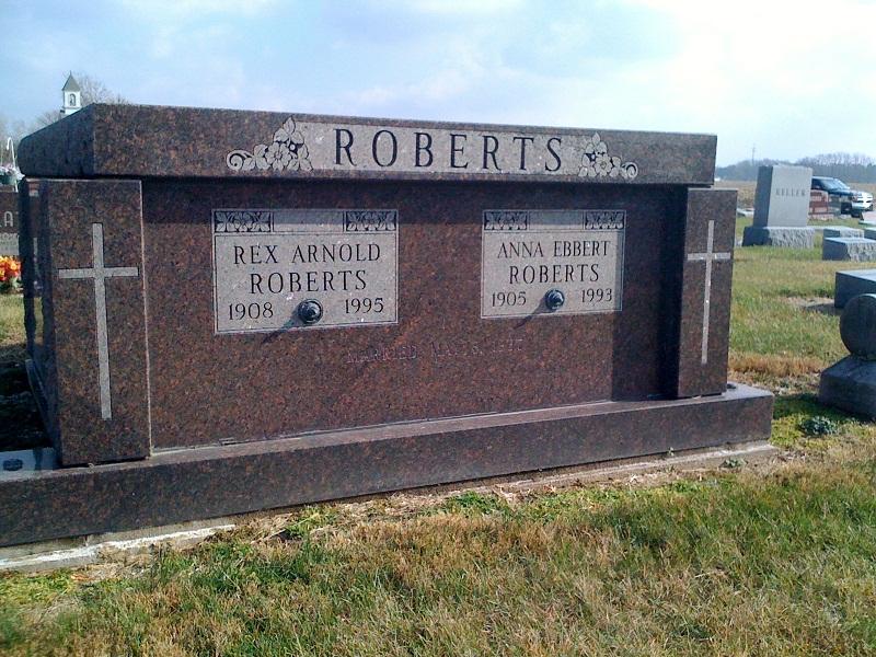 Anna Sarah <i>Ebbert</i> Roberts