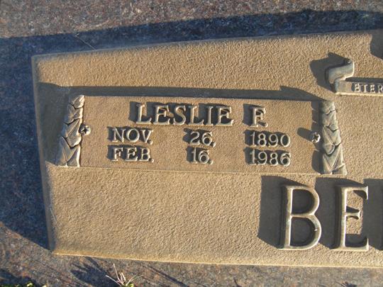 Leslie Franklin Beemer