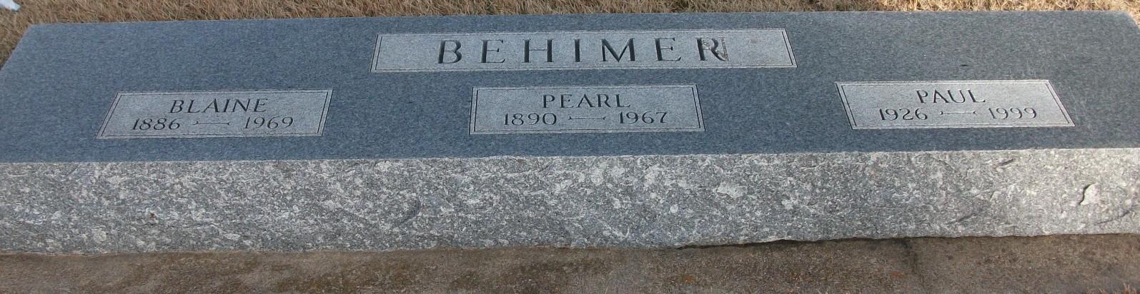 Pearl <i>Merrell</i> Behimer