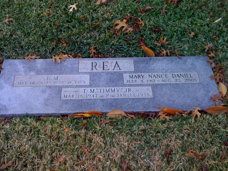 Mary Nance <i>Daniel</i> Rea