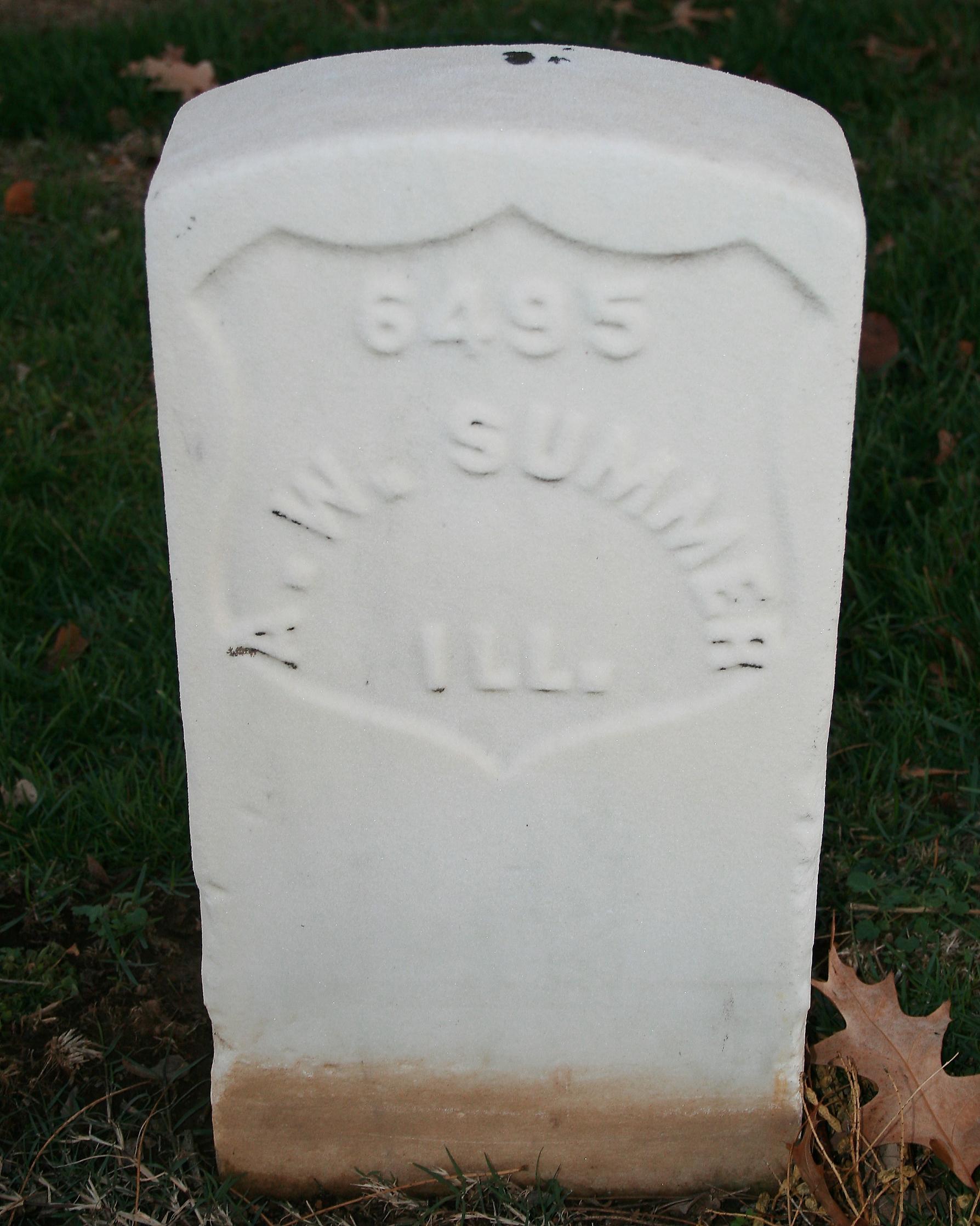Pvt Anthony W. Summer