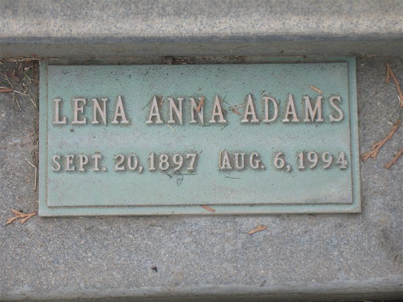 Lena Anna <i>Northern</i> Adams