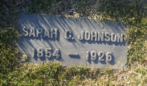 Sarah Catherine Norris Johnson 1854 1926 Find A Grave Memorial