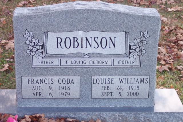Louise <i>Williams</i> Robinson