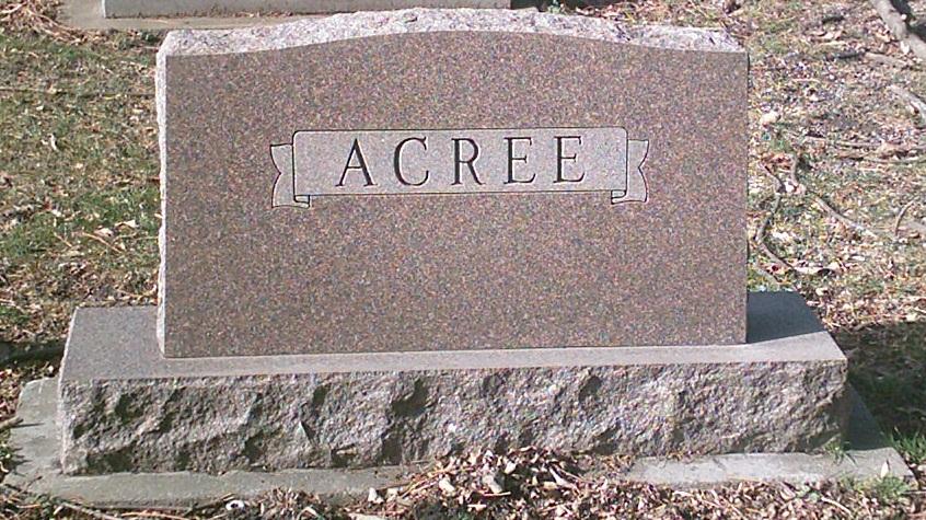 Alice Helen <i>Brucker</i> Acree