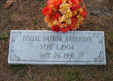 Dollie Burnice <i>Dasher</i> Anderson