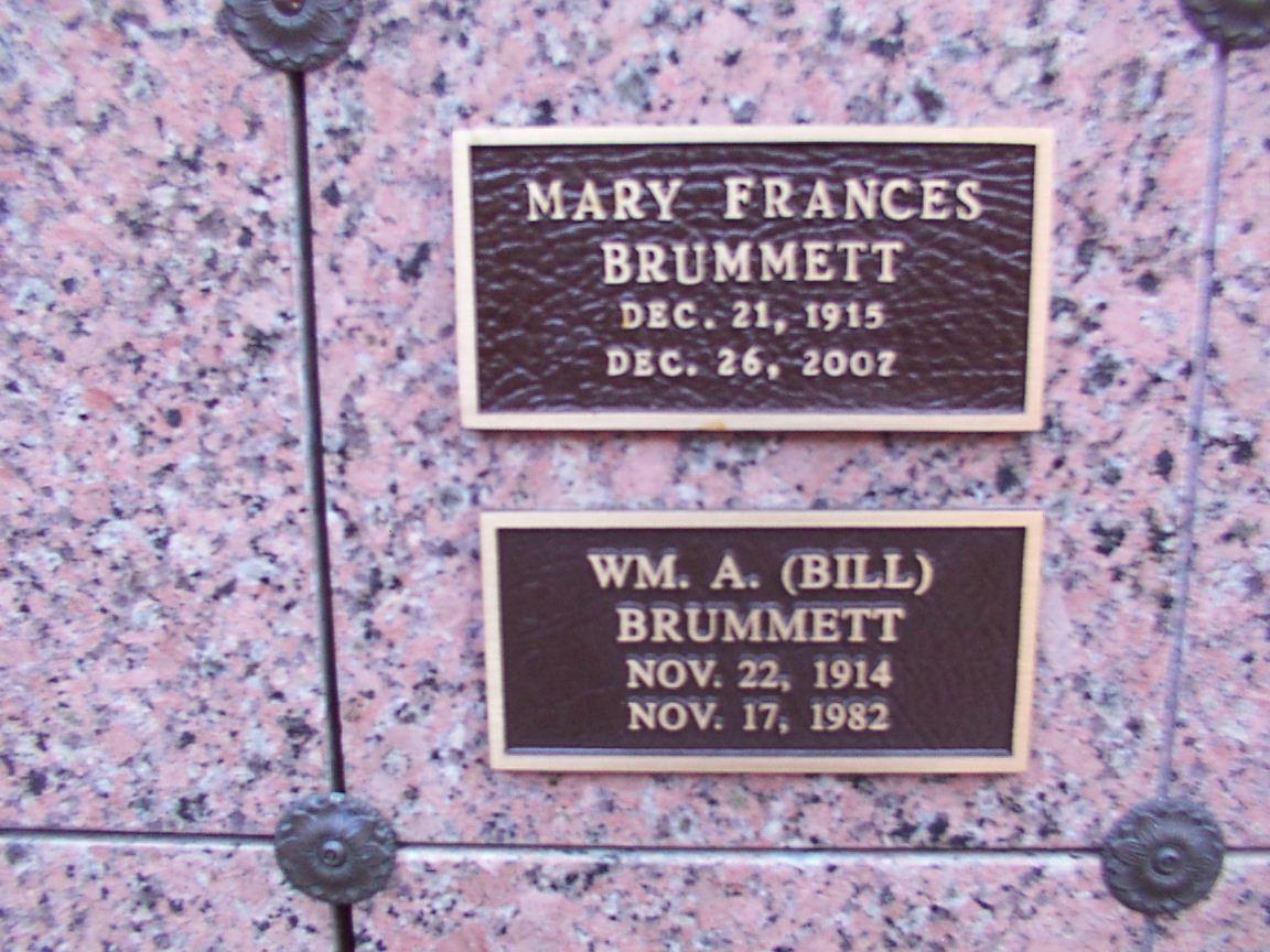 Mary Frances <i>Rice</i> Brummett