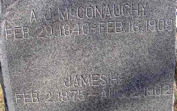 James Henry McConaughy