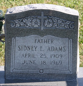 Sidney E. Adams