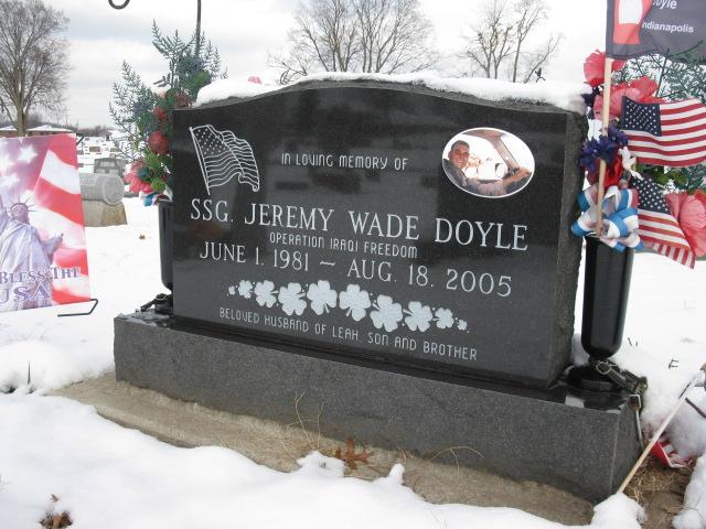 Sgt Jeremy Wade Doyle