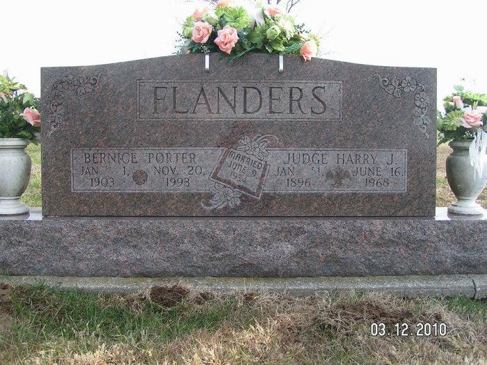 Judge Harry Jesse Flanders